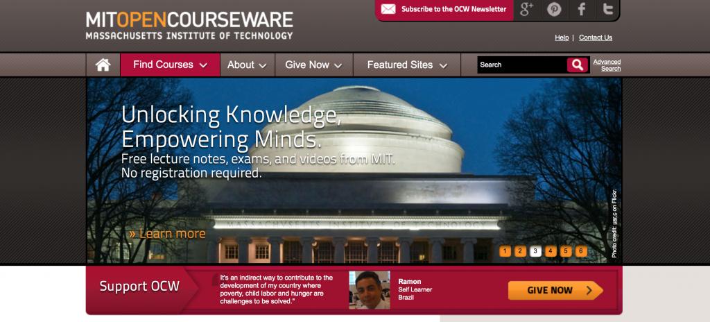 cursos MIT