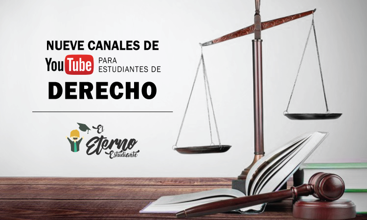 canales de youtube de derecho