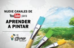 canales de youtube de pintura