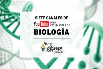 canales de youtube de biología
