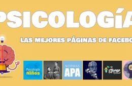 paginas de facebook psicología