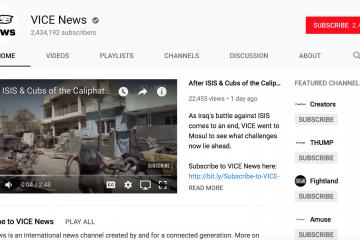 comunicación canales youtube