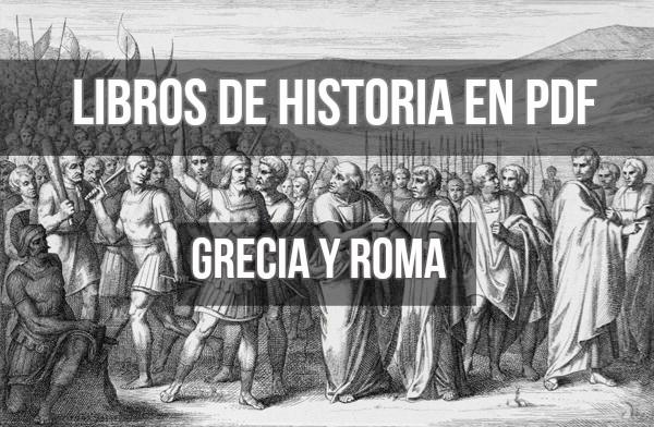libros de historia grecia roma