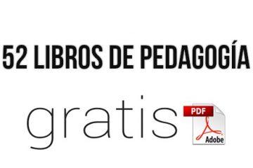 libros en pdf de pedagogía