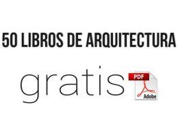 libros en pdf de arquitectura