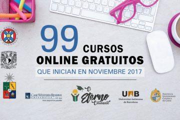 cursos online noviembre 2017