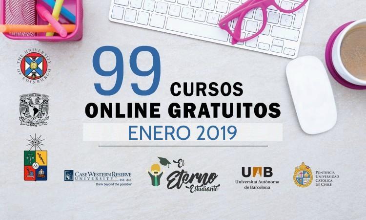 99 Cursos Online Gratuitos Que Inician En Enero 2019