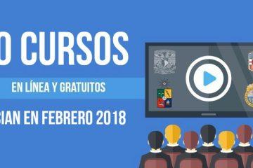 cursos online febrero 2018