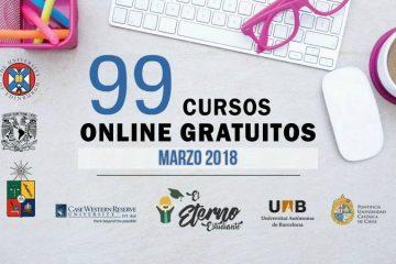 cursos online marzo 2018