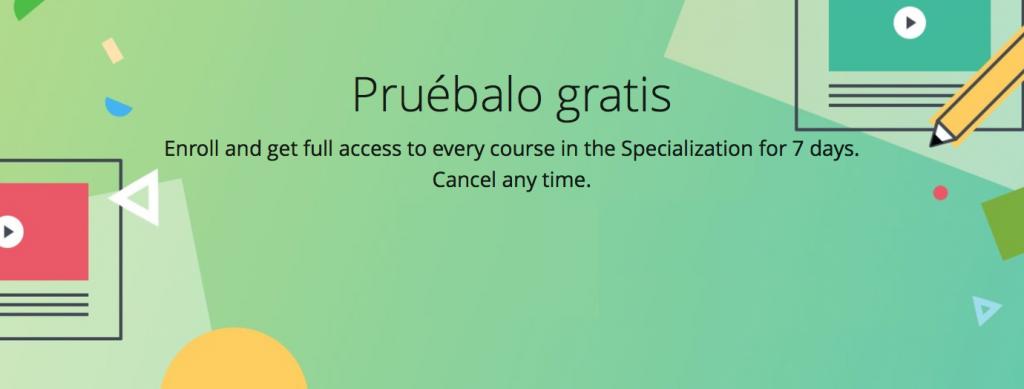 coursera especializaciones online