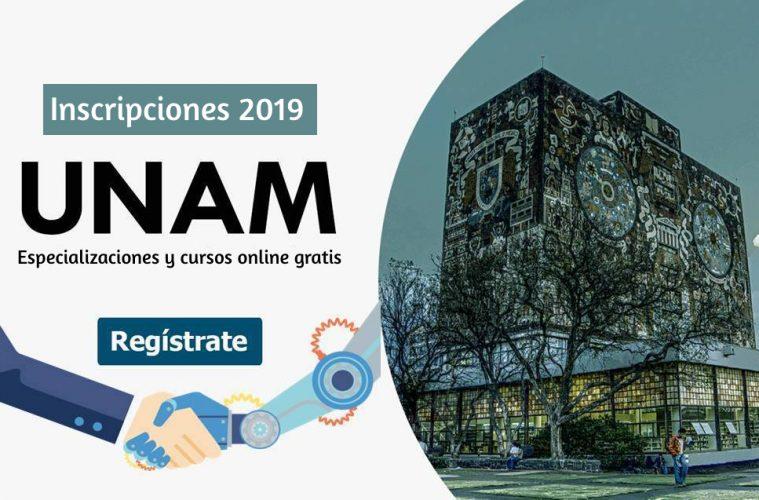 cursos UNAM 2019