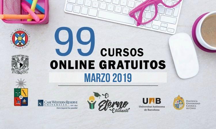 cursos gratis marzo 2019