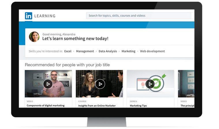linkedin learning cursos