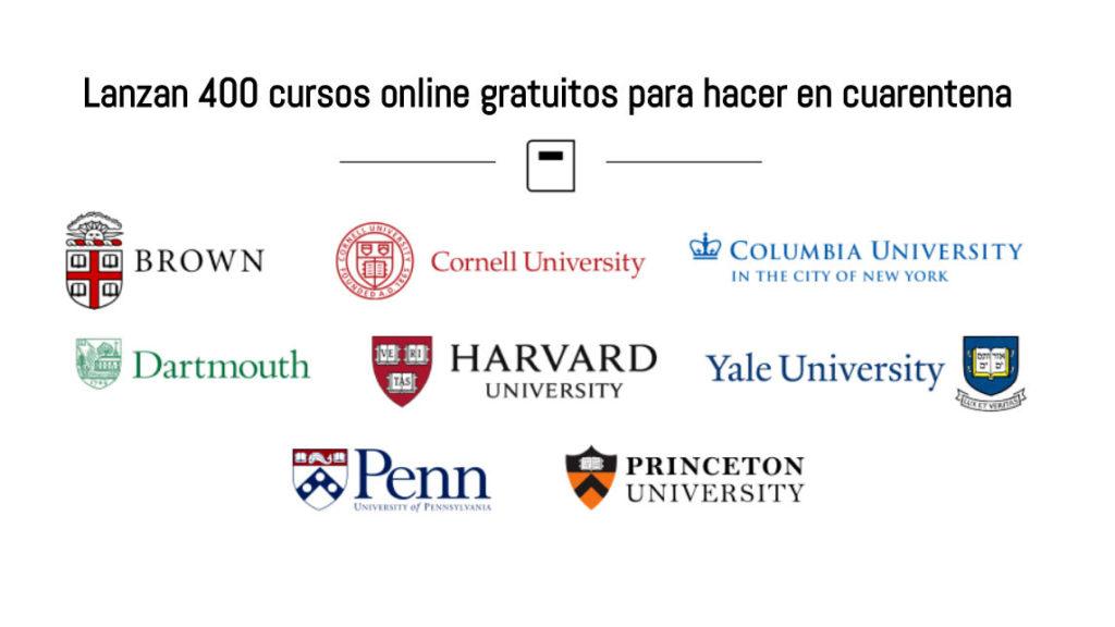 Ivy League 400 Cursos Online Gratuitos Para Hacer Esta Cuarentena