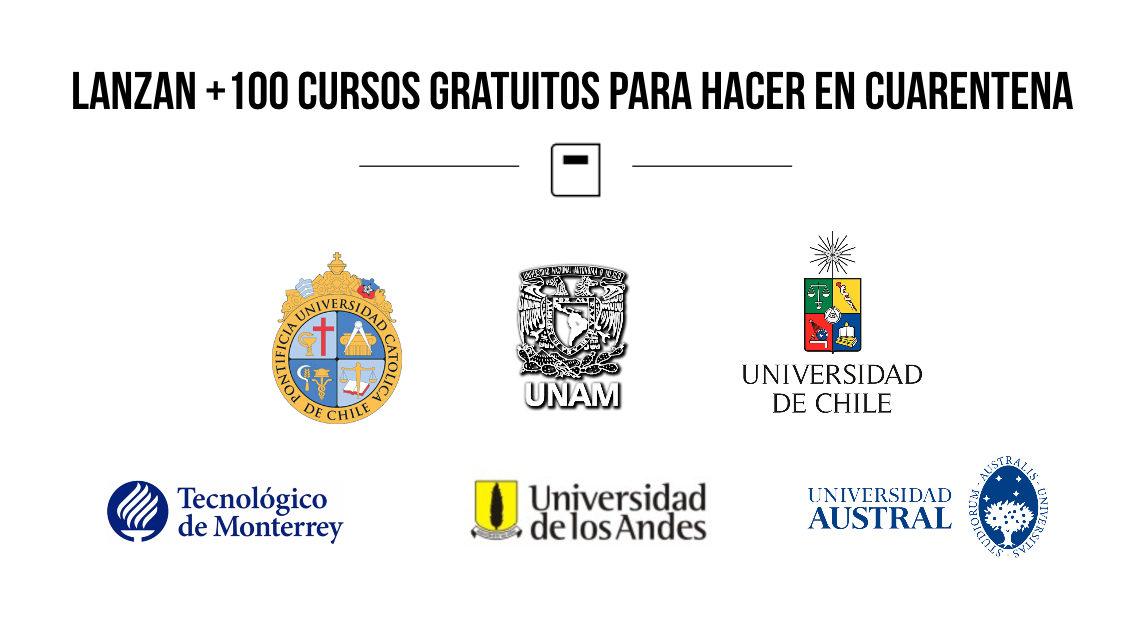 Universidades De America Se Juntan Para Lanzar 100 Cursos Gratis Esta Cuarentena