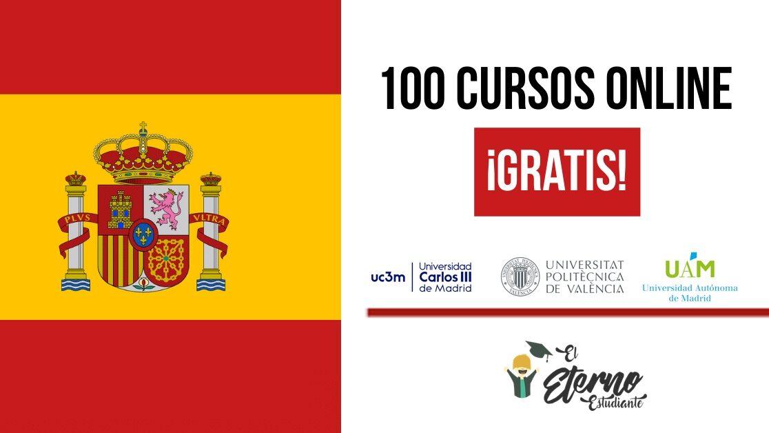 Universidades De Espana Ofrecen 100 Cursos Gratuitos