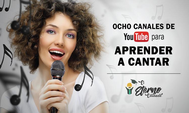 canales de youtube para aprender a cantar