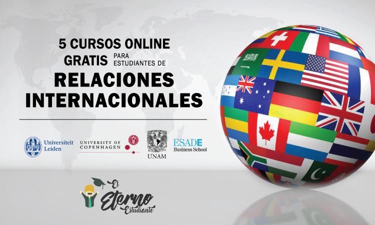 cursos online gratis de relaciones internacionales