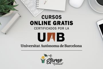 universidad autonoma de barcelona cursos gratis