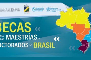 brasil becas maestria doctorado