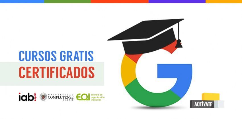 cursos online certificados google