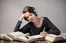 estudiar con o sin música