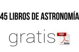 libros en pdf de astronomía