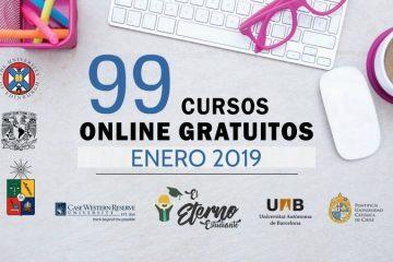 cursos online enero 2019