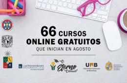 cursos gratis agosto 2018