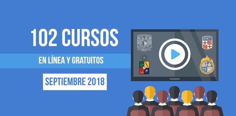 cursos septiembre 2018