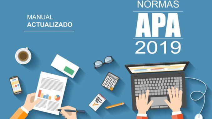 Normas Apa 2019 6ta Sexta Edición Descargar Pdf