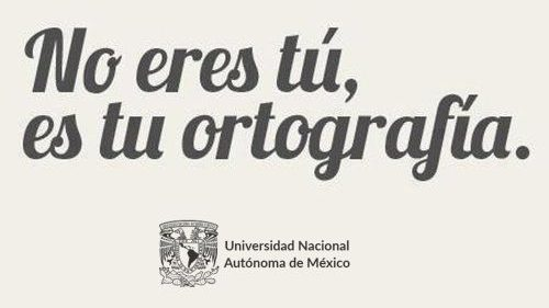 UNAM lanza curso online gratuito de Ortografía (con certificado)